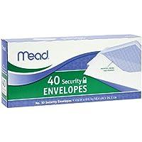 Sobres de Seguridad Mead # 10, 40 Cantidad (75214)