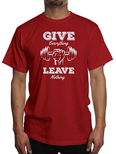 Young Motto Men's GIVE EVERYTHING LEAVE NOTHING T-Shirt Leave Nothing T-shirt