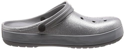 Glitter Crocs Clog Crocband Silver Crocband Glitter Crocs 7Pwqx5d4