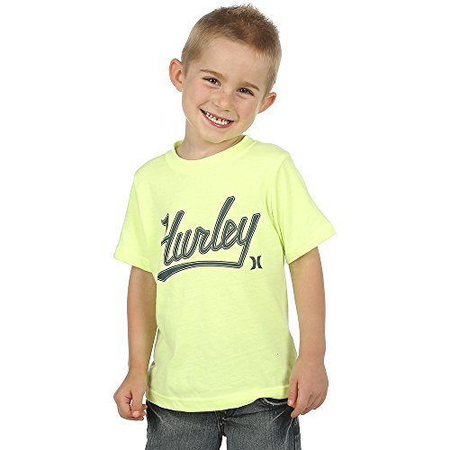 Hurley Boys Retreat Tee 6 Little Kids Ghost Green Heather