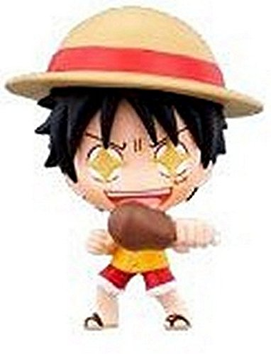 "One Piece Deformaster DMP Vol. 1 Trading Figures w/ Base-2.5"" Monkey D Luffy B"
