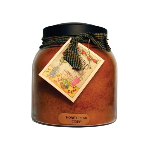 A Cheerful Giver Honey Pear Cider Papa Jar Candle, (Honey Pear)
