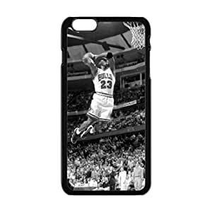 Cool Painting Bulls 23 basketball player Cell Phone Case for Iphone 6 Plus
