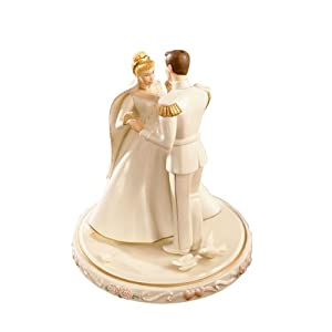 tangled wedding cake topper lenox cinderella s wedding day cake topper 20753