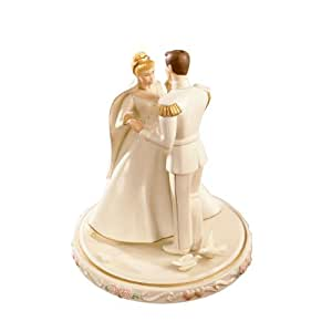 wedding cake topper figurines lenox cinderella s wedding day cake topper 8802
