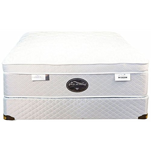 Twin Spring Air Back Supporter Four Seasons Paradise Plush Eurotop Mattress