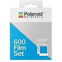 Polaroid Originals 4844 600 Film Set (1 Color- 1 B&W), White