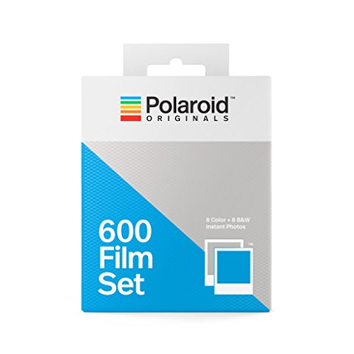Polaroid Originals 600 Two Pack Film Set (1 Color + 1 B&W) (4844) (The Best Polaroid Camera 2019)