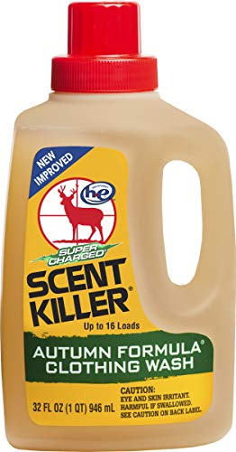 Scent Killer 585-33 Wildlife Research Super Charged Autumn Formula Clothing Wash