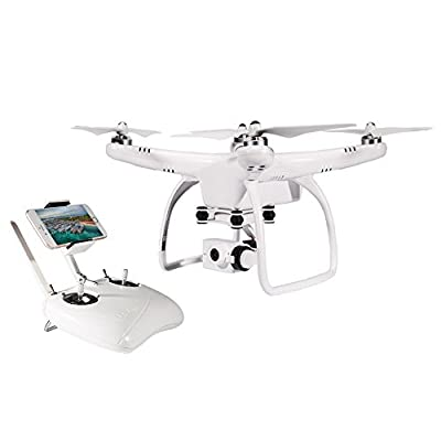 UPair One Plus RC Drone with HD Camera Live Video WiFi Quadcopter with Altitude Hold Mode Headless Mode and GPS One Key Return Home, Adjustable 120° Wide-Angle and Follow Me Function by UPair