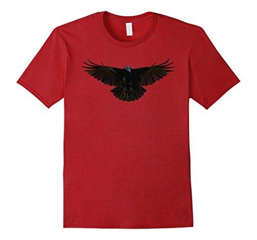 Mens Halloween Crow Costume Idea T-Shirt Large (Good Ideas For Halloween Costumes For Couples)