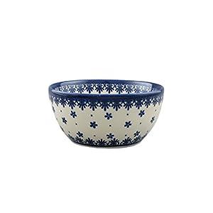 Boleslawiec Style Pottery Hand Painted Polish Ceramic Venus Bowl (13) 071-C-008