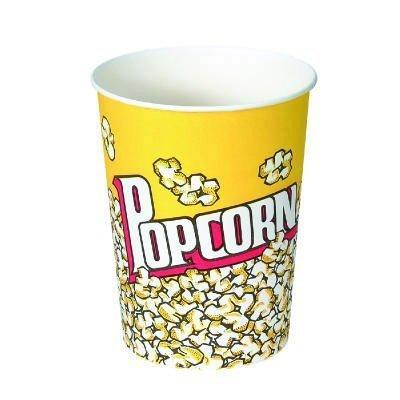 SCCV32 - Solo Paper Popcorn Cup, 32 Oz, Popcorn Design, 50/pack