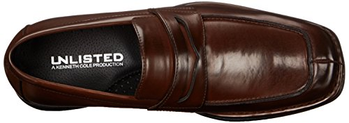 Kenneth Cole Onoterade Mens Bon Brand Öre Loafer Brun
