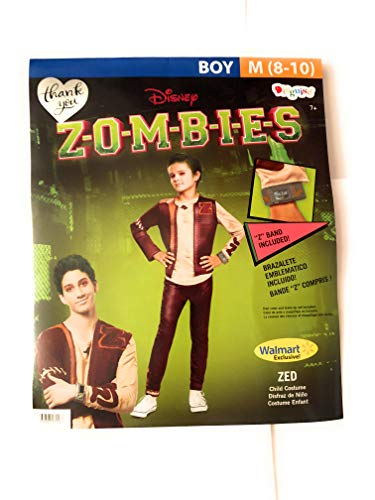 Wal Mart Zombies ZED Boys Costume Medium -