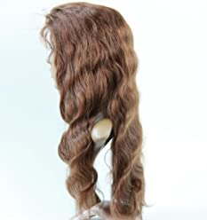 Full Lace Wigs Hand Made Human Hair Remy 100% Peruvian Virgin #4 Body Wave