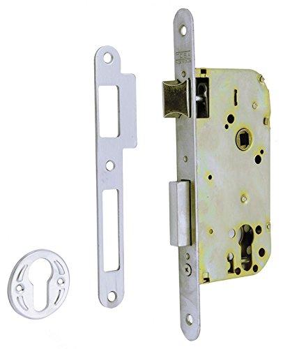 Tesa Assa Abloy 413058RAI Cerradura de embutir para puertas de madera. Entrada 50, frente
