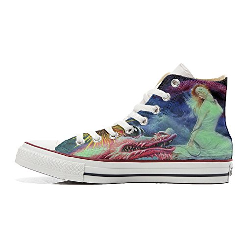 Converse All Star zapatos personalizados (Producto Handmade) Fata Drago