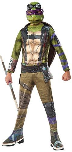 Rubie's Costume Kids Teenage Mutant Ninja Turtles 2 Value Donatello Costume, (Shredder Halloween Costumes)