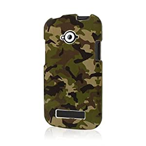 Cellphone Accessory Best Series Rubberized Case for BLU Tank 4.5 - Green Camo
