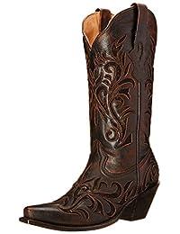 Stetson Women's Filigree Western Boot