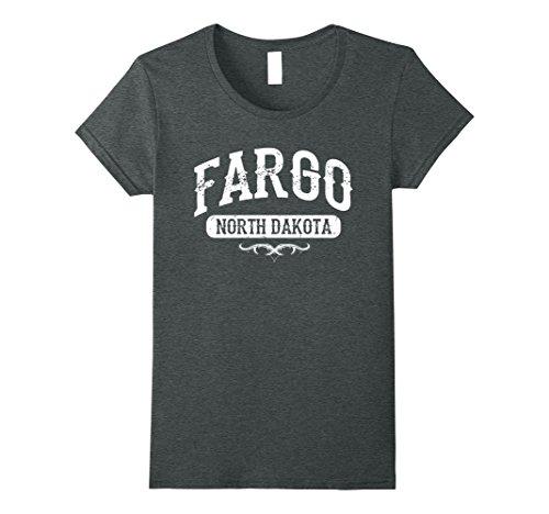 Womens Fargo North Dakota T Shirt XL Dark - Fargo Women