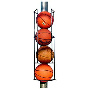 Blue Collar Industries Basketball Butler Deluxe 4 Ball Storage Rack