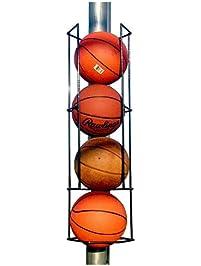 Basketball Butler Deluxe 4 Ball Storage Rack