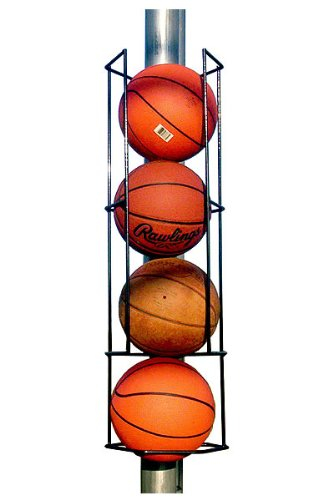 Basketball Butler Deluxe 4 Ball Storage Rack