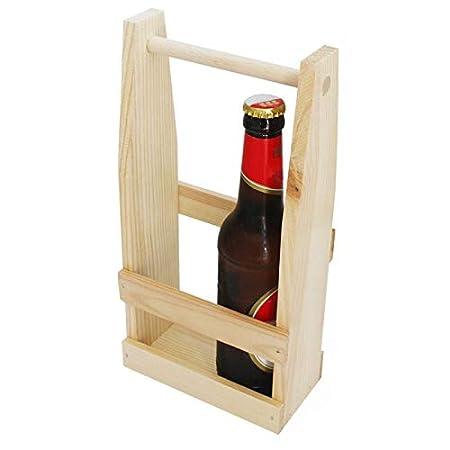 Männerhandtasche Bier Bierträger für 6 Flaschen Flaschenträger Flaschenhalter