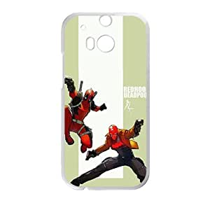 Happy Shrewd capable deadpool Cell Phone Case for HTC One M8