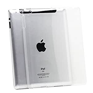 Fosmon SLIM Crystal Smart Cover Companion Case for iPad 2 / iPad 3 / iPad 4 (with Retina Display) - Clear