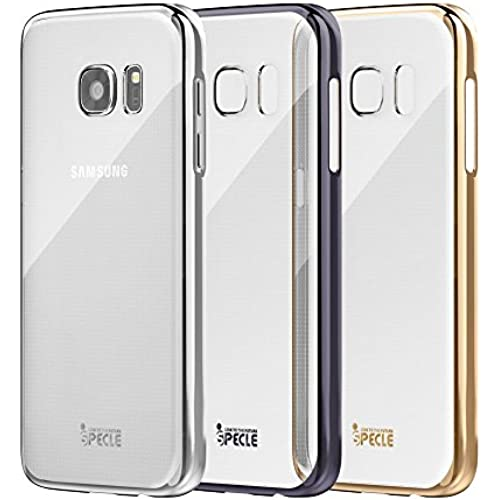 iSPECLE Galaxy S7 Case Cover (3-Pack) - Ultra Slim-Fit with Protective Hard PC Back Shell- Clear Case with Electroplated Sales