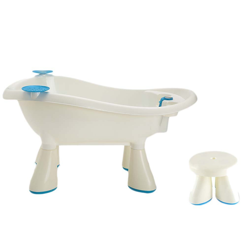 Baby Tub - Baby Bath Tub Can Sit Lie Children Bucket Baby Newborn Toiletries Give More Space As The Child Grows To Care For Your Kid's Health