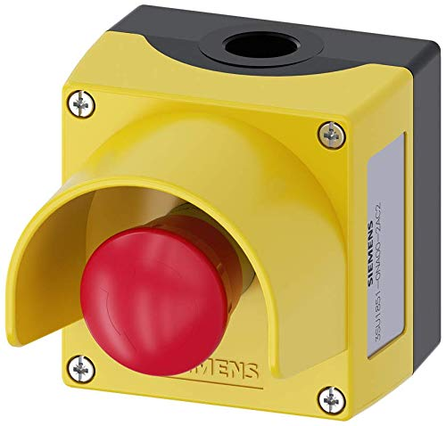 Metal IP69K Protection Rating Siemens 3SU18510NA002AC2 Enclosure Metal Green 1 Command Point IP66 5to500volts IP67