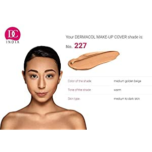 DC Dermacol Long-Lasting Waterproof Makeup Cover Cream SPF 30 Hypoallergenic and Light Weight Liquid Full Coverage…