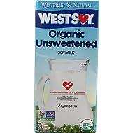 Westsoy Organic Unsweetened Soymilk Original -- 32 fl oz - 2 pc