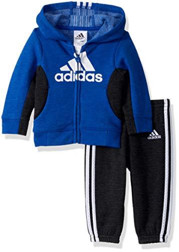 adidas Baby Boys Sweatshirt and Sweatpants Set