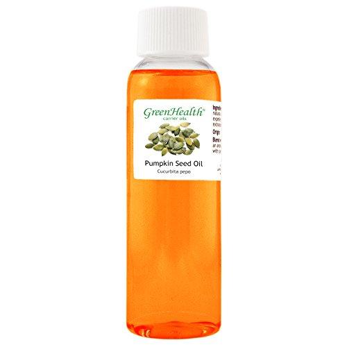 GreenHealth Pumpkin Seed Oil - 2 fl oz (59 ml) - 100% Pure Cold Pressed