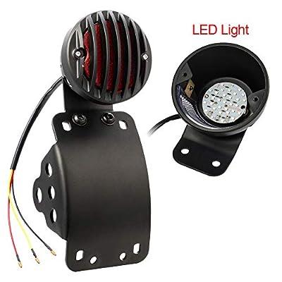 Amazicha LED Tail Light Rear Light Brake Light Side Mount 3/4