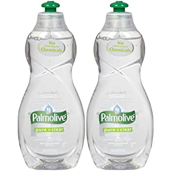Palmolive Ultra Dish Washing Liquid Pure+clear, 10oz - 2 Pack...