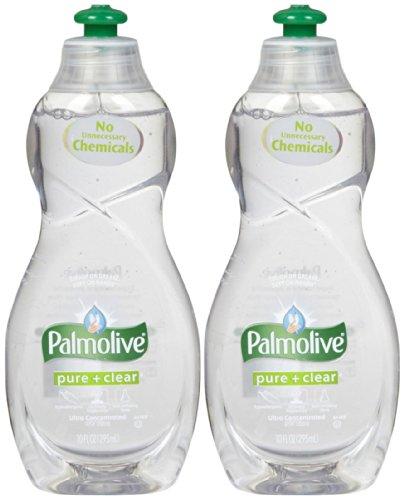 Dishwashing Detergent Palmolive (Palmolive Ultra Dish Washing Liquid - 10 oz - Pure & Clear - 2 pk by palmolive)