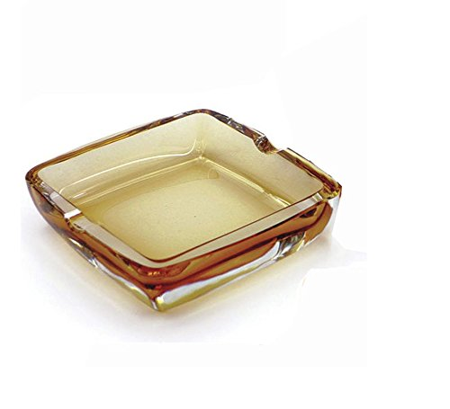 ZZSIccc Valentine's Day Gift crystal glass ashtray modern creative amber smoking rooms and stylish hotel restaurant -