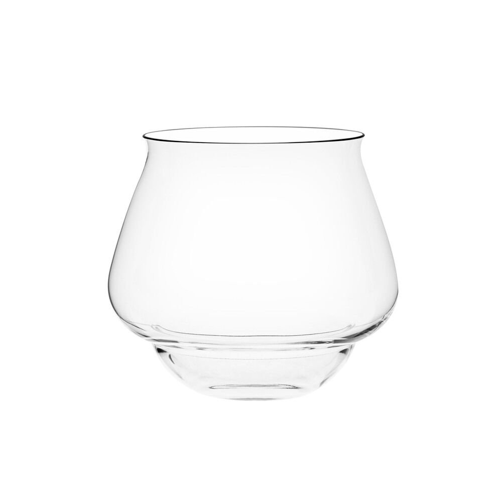 Italesse 8033210468966 Go Tumbler, Glass, Crystal Clear, Transparent