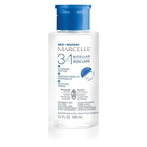 Marcelle Hypoallergenic and Fragrance-Free 3-in-1 Micellar Solution - 10 FL. OZ.