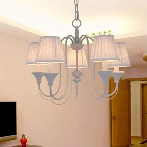 (ChuanHan Ceiling Fan Light Chandelier Lightings Creative Nursery Boys and Girls Princess Pink Bedroom Garden Decoration D70 H45Cm Chandeliers)