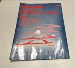 1992 nissan sentra nx 1600 2000 electrical wiring digram1992 nissan sentra nx 1600 2000 electrical wiring digram troubleshooting manual nissan amazon com books