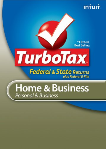 TurboTax Home & Business Federal + e-File + State 2010 [Download] [OLD VERSION] by Intuit