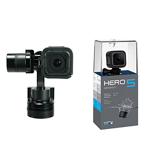 EVO SS Wearable Gimbal with GoPro Hero5 Session Camera Bundle