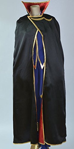 Onecos Code Geass Zero Cosplay (Code Geass Uniform Costumes)